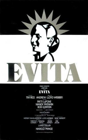 Evita broadway poster 1979