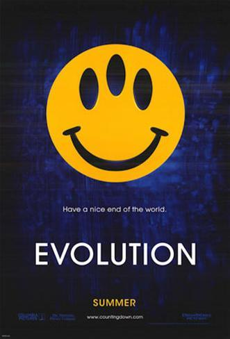 Evolution Double-sided poster