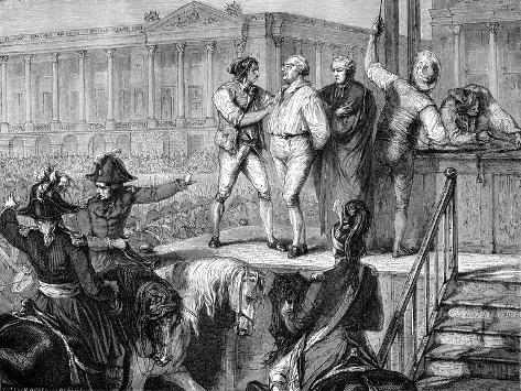 Execution of Louis XVI of France, Paris, 21st January 1793 (1882-188) Giclee Print