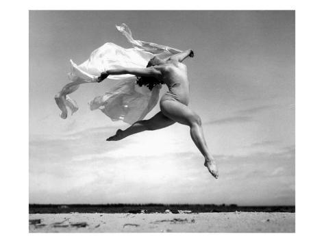 Exhuberant Soaring Dance Giclee Print