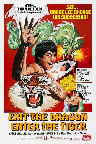 Exit the Dragon Art Print
