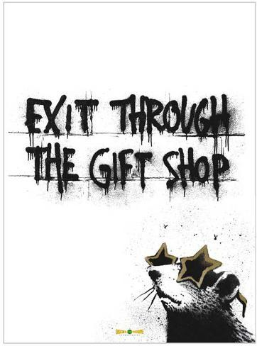 Exit Through the Gift Shop Stampa master