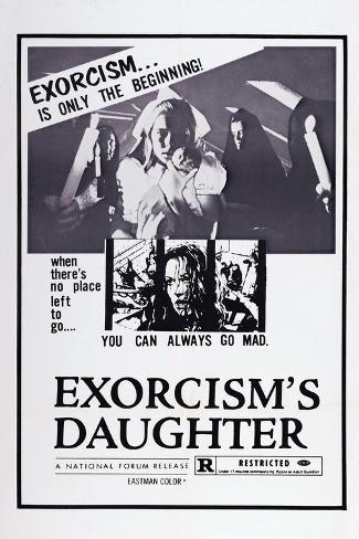 Exorcism's Daughter, (Aka Las Melancolicas), Analia Gade (Center), 1974 Art Print