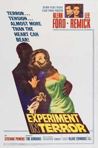 Experiment in Terror Art Print