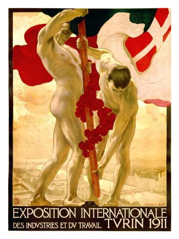 Expo Internationale Turin, 1911 Giclee Print