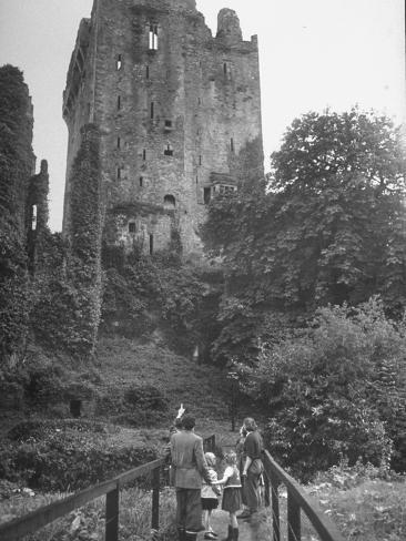Exterior of the Blarney Castle Photographic Print