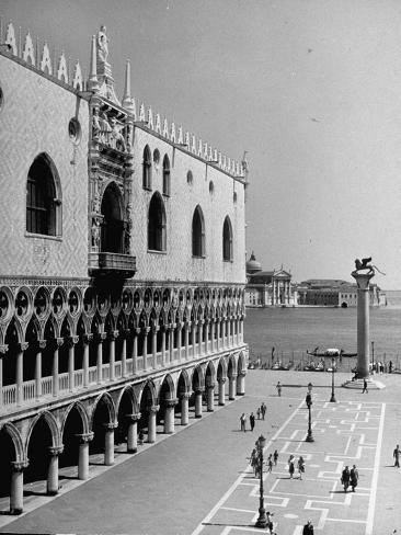 Exterior of the Doge's Palace Photographic Print