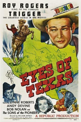 Eyes of Texas Lámina