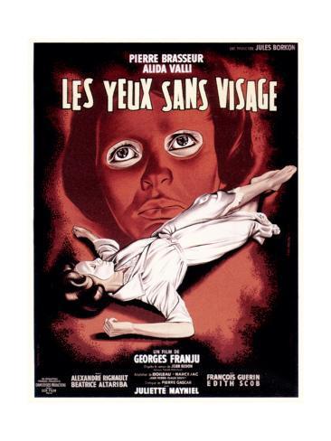 Eyes Without a Face, (aka Les Yeux Sans Visage), 1959 Lámina giclée