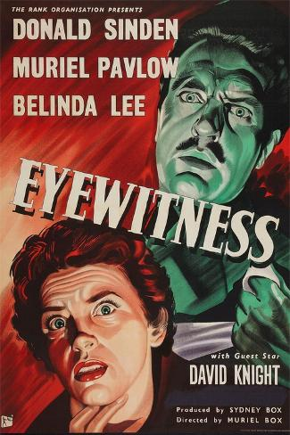 Eyewitness Art Print