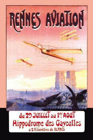 Rennes Aviation Wall Decal