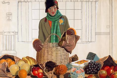 Untitled, from the Series 'Christmas Fare from the Empire' Giclee Print