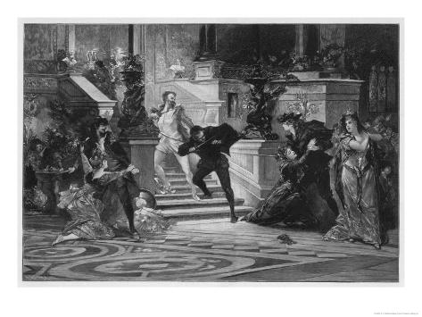 Don Giovanni, the Opening Scene Giclee Print