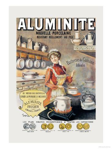 Aluminite Taidevedos