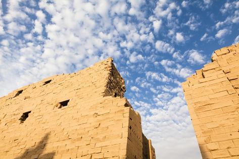 Temple of Amun, Karnak Temple, Luxor, Egypt Photographic Print