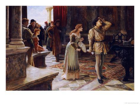 The Merchant of Venice, 1892 Giclee Print