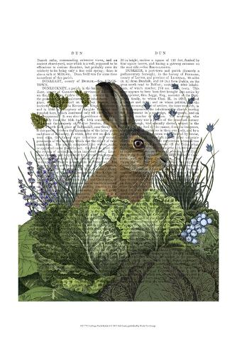 Cabbage Patch Rabbit 3 Art Print