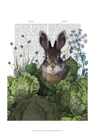 Cabbage Patch Rabbit 4 Art Print
