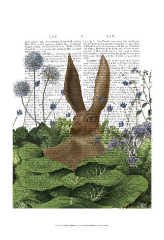 Cabbage Patch Rabbit 5 Art Print