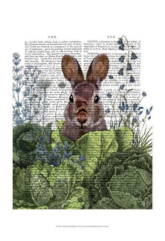 Cabbage Patch Rabbit 6 Art Print
