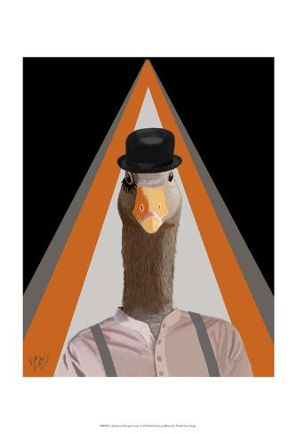 Clockwork Orange Goose Stampa artistica