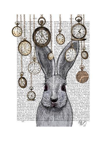 Rabbit Time Impressão artística