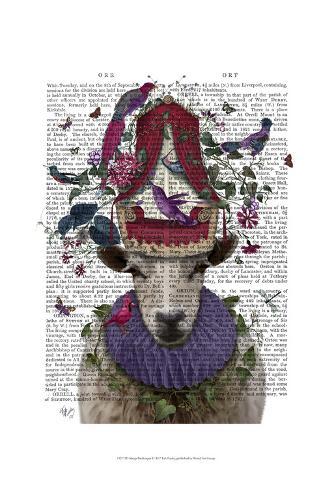 Sheep Birdkeeper Art Print