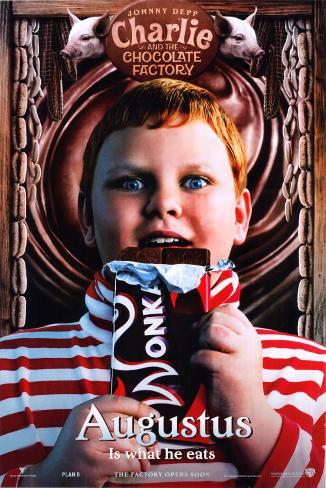 fabbrica di cioccolato, La Poster
