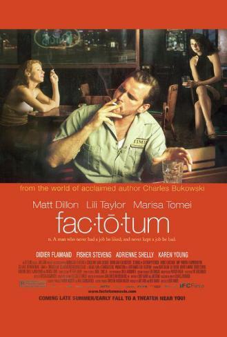 Factotum Pôster