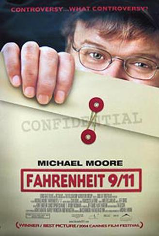 Fahrenheit 911 Original Poster