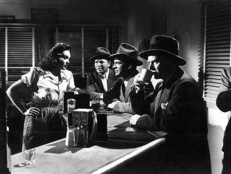 Fallen Angel, Linda Darnell, Bruce Cabot, Dana Andrews, Charles Bickford, 1945 Foto