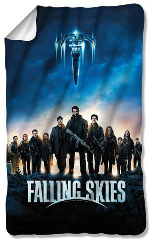 Falling Skies - Poster Fleece Blanket Fleece Blanket