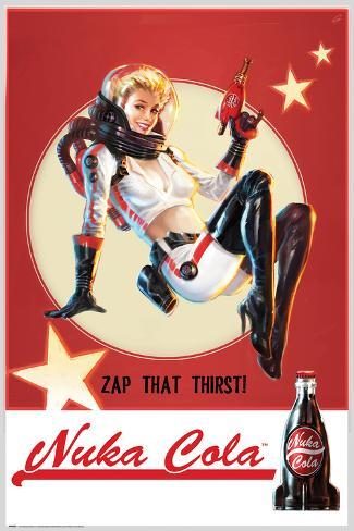 Fallout- Nuka Cola Póster