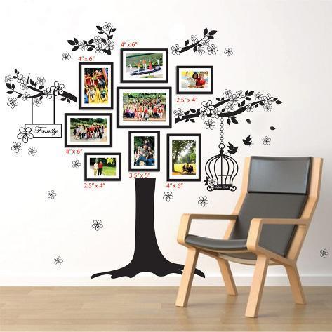 Family Photo Tree Decalcomania da muro