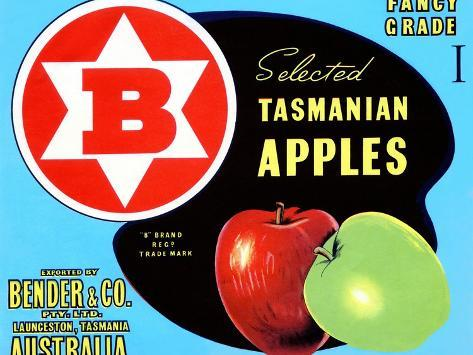 Fancy Grade Selected Tasmanian Apples Taidevedos