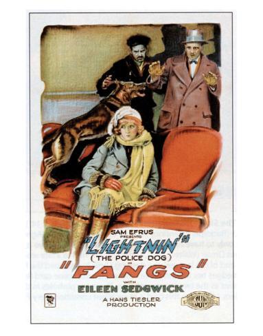 Fangs - 1926 Lámina giclée