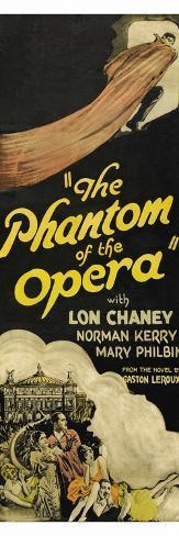 fantasma de la ópera, El Lámina