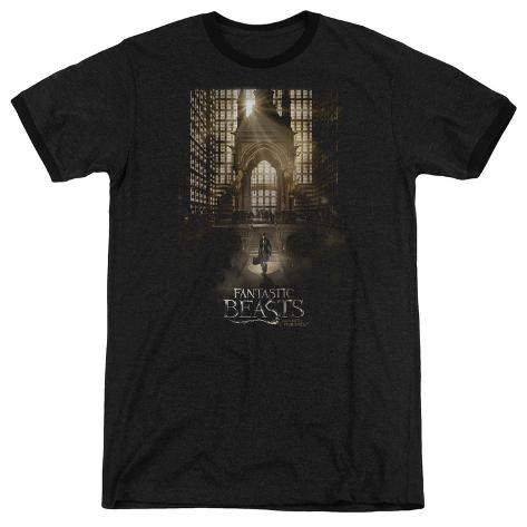 Fantastic Beasts- Grand Arrival Ringer T-Shirt