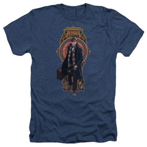 Fantastic Beasts- Newt Scamander Badge T-Shirt