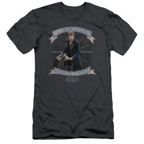 Fantastic Beasts- Newt Scamander Magizoologist (Premium) T-Shirt