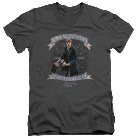 Fantastic Beasts- Newt Scamander Magizoologist V-Neck V-Necks