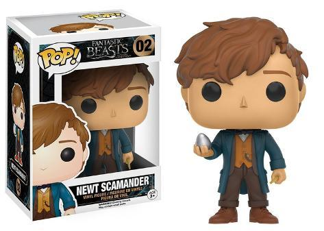 Fantastic Beasts - Newt with Egg POP Figure Brinquedo