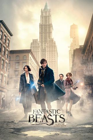 Fantastic Beasts- The Streets Of New York Poster