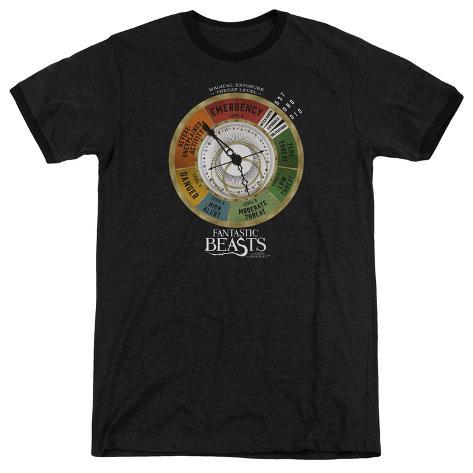 Fantastic Beasts- Threat Gauge Ringer T-Shirt