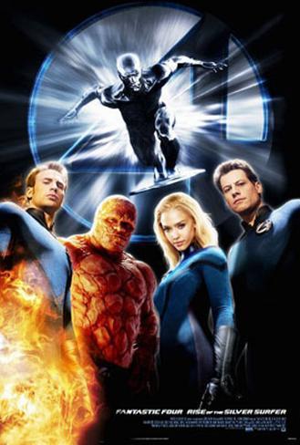 Fantastic Four:Rise Of The Silver Surfer Originalposter