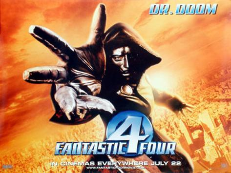 Fantastic Four Pôster original