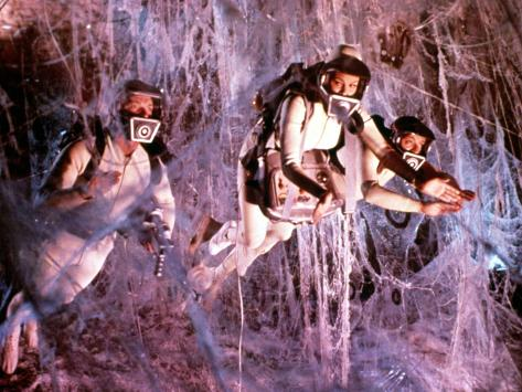 Fantastic Voyage, Stephen Boyd, Raquel Welch, Donald Pleasence, 1966, Suspended Photo