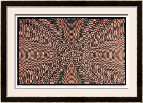 Fantasy Illusion Framed Art Print