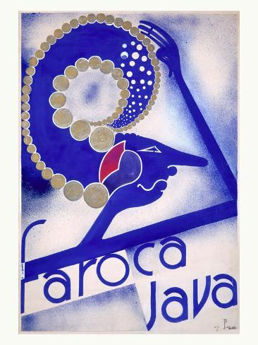 Faroca Java Coffee Giclee Print