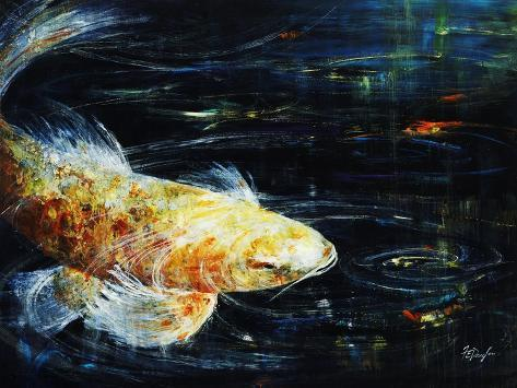 Big fish giclee print by farrell douglass at allposters for Big fish printing